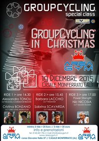 Group Cycling® in Christhmas Specialclass