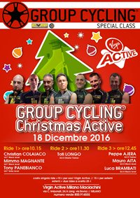 Group Cycling® Christmas Active Specialclass