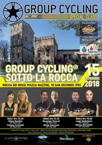 Group Cycling sotto la Rocca