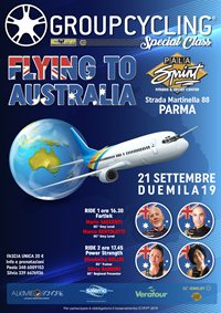Flying to Australia
